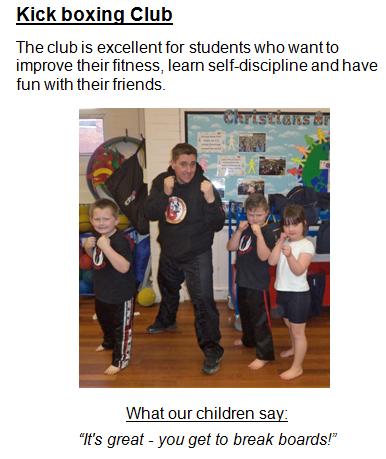 Kick boxing Club