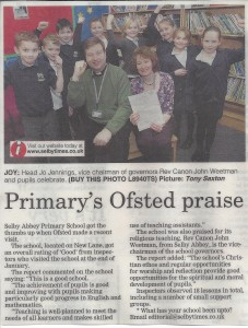 March 2013 Ofsted praise