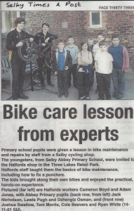 Nov 2013 Bike Care Lesson from experts
