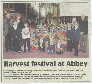 Selby Abbey Bumper Harvest 2